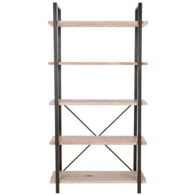 Chantel Light Oak Open Bookcase