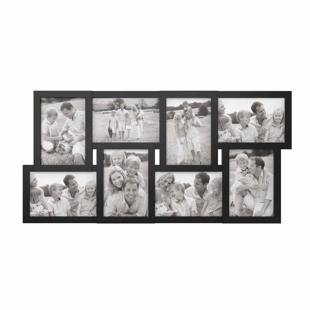 Lavish 12-Opening 2 in. x 3 in. My First Year White Picture Frame ...