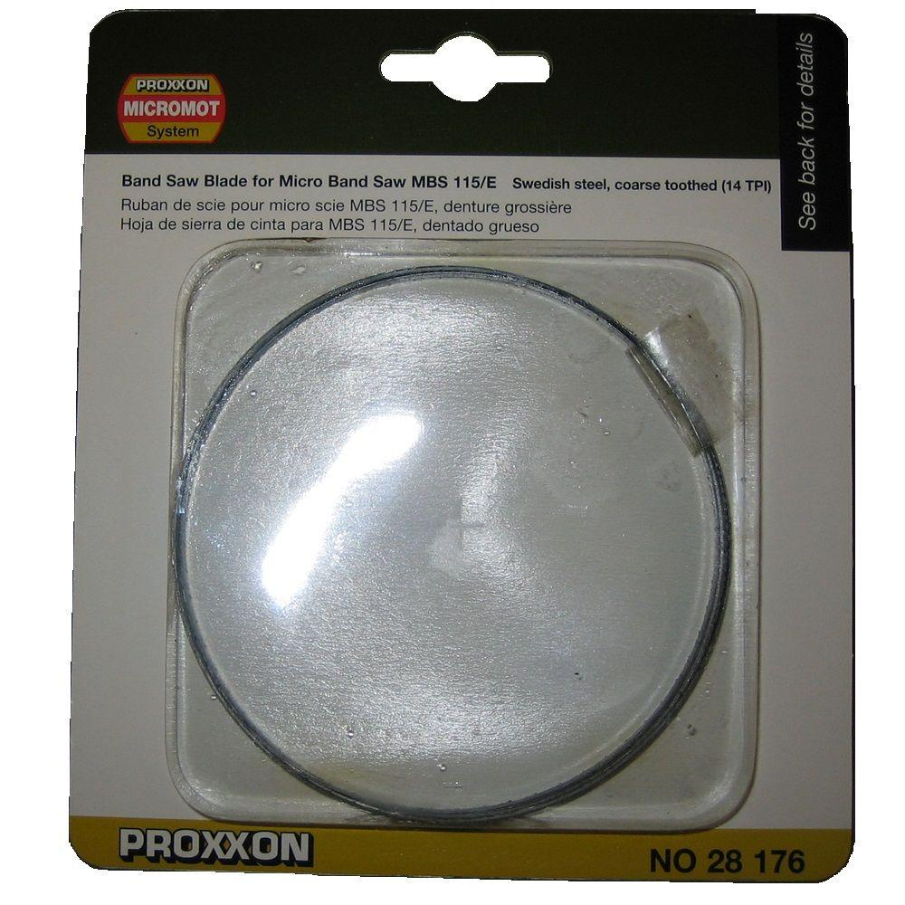Proxxon 42 in. x 5 mm 14 TPI Standard Band Saw Blade