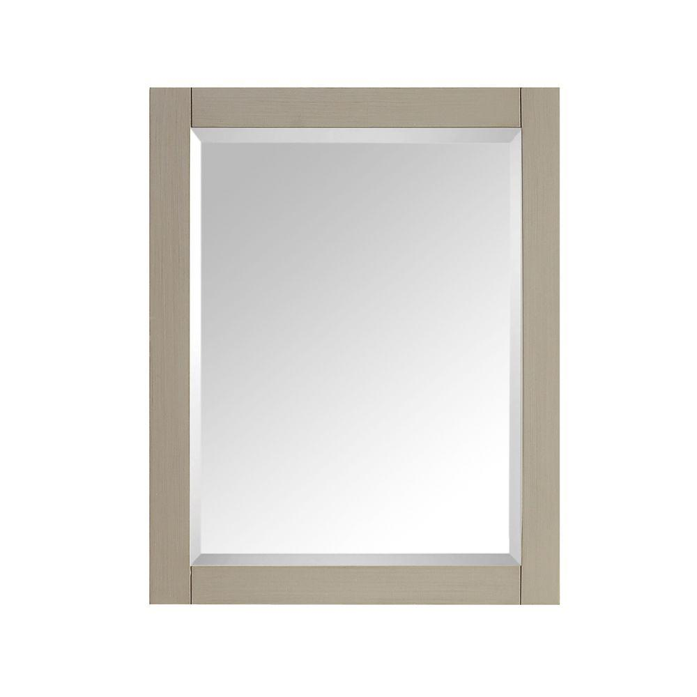 24 in. W x 30 in. H Single Framed Wall Mirror