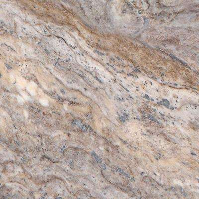 4 in. Stone Effects Vanity Top Sample in Cold Fusion