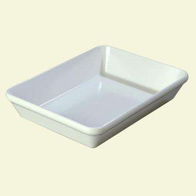 2.9 qt., 9 in. x 12 in. Melamine Baker Style Serving Dish in White (Case of 4)