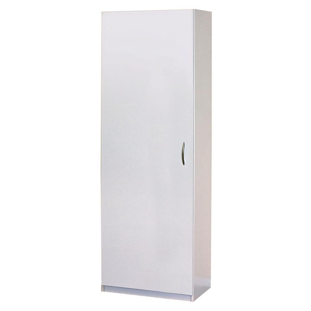 Closetmaid 15 25 In D X 24 In W X 71 75 In H Laminate Storage Cabinet Closet System In White