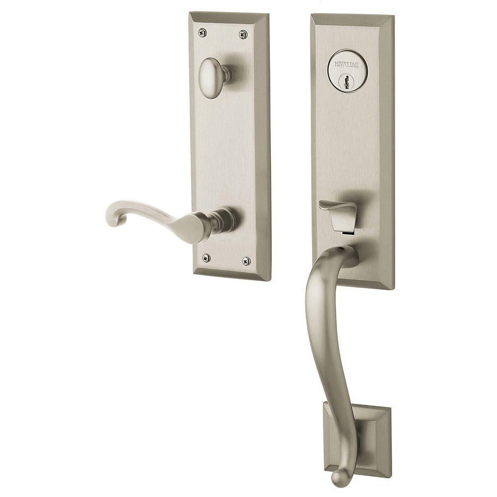 Estate Collection Stonegate Single Cylinder Satin Nickel Right-Handed Handleset