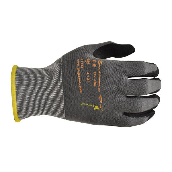 MicroFoam Nitrile Coated Extra-Large Work Gloves for General Purposes Lightweight Work Gloves (12-Pair per Pack)