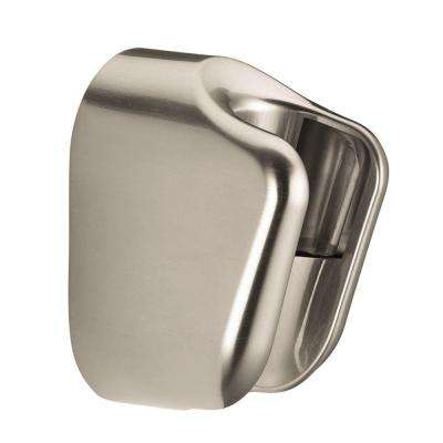 Porter E Hand Shower Holder in Brushed Nickel