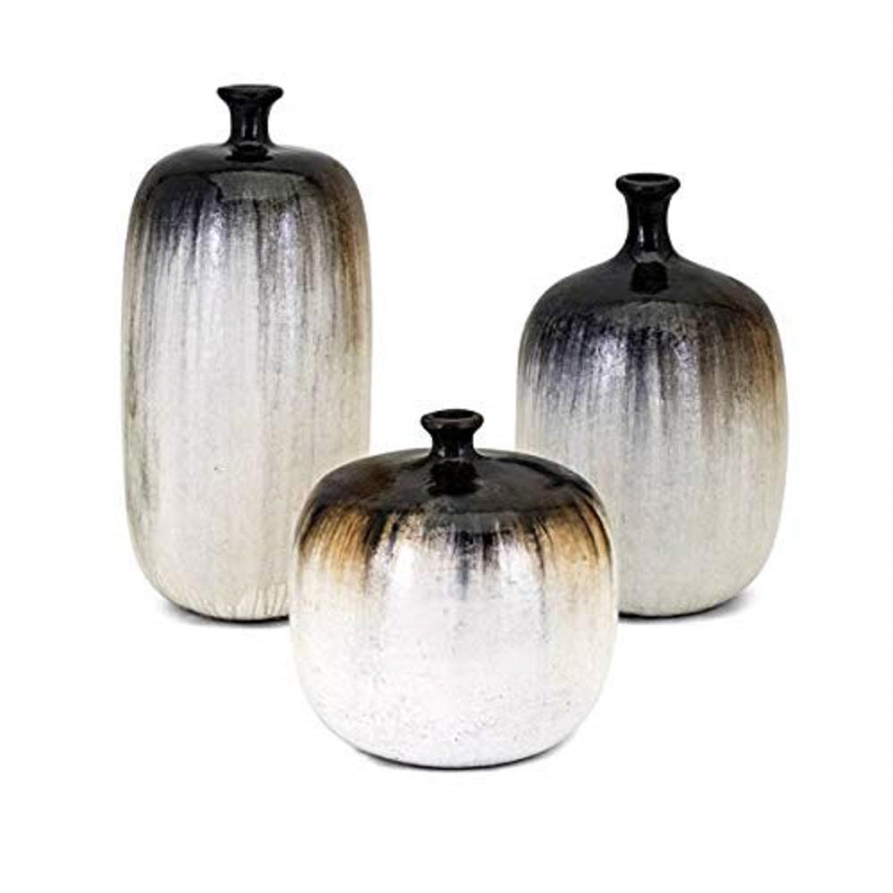 IMAX Elon Brown Vases (Set of 3) 20148-3