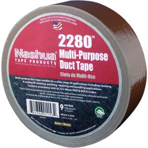 3m 188 in x 20 yds brown duct tape 3920 br the home depot 2280 multi purpose brown duct tape mozeypictures Gallery