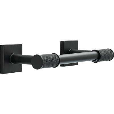 Averland Pivot Arm Toilet Paper Holder in Matte Black