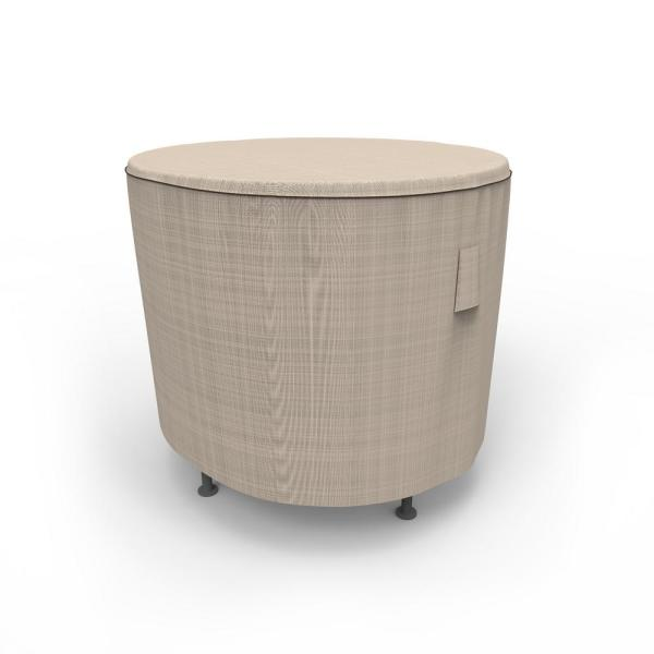 Rust-Oleum NeverWet Mojave Extra Small Black Ivory Round Patio Table Cover
