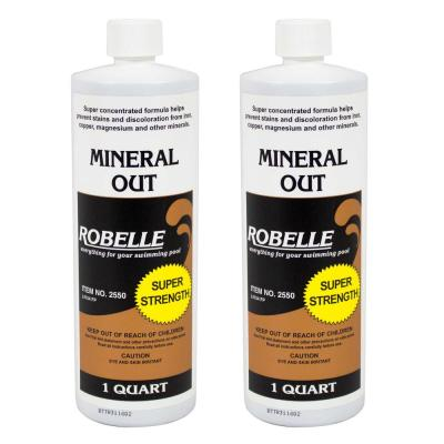 1 qt. Pool Mineral Out Stain Remover (2-Pack)