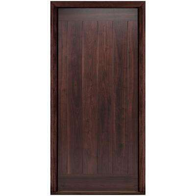 36 in. x 80 in. AvantGuard Flagstaff Right-Hand Inswing Finished Smooth Fiberglass Prehung Front Door No Brickmold