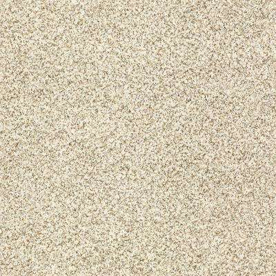 Carpet Sample - Madeline II - Color Champagne Toast Texture 8 in. x 8 in.