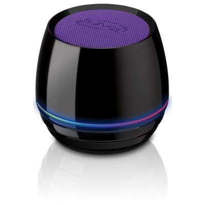 Bluetooth Rechargeable Can Speaker, Purple