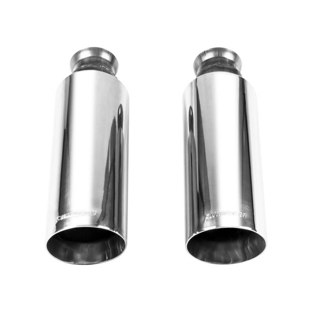 Ram 1500 Exhaust >> Flowmaster Exhaust Tip 09 17 Dodge Ram 1500 Direct Fit Exhaust Tips Pair Bright Polish Finish 4in