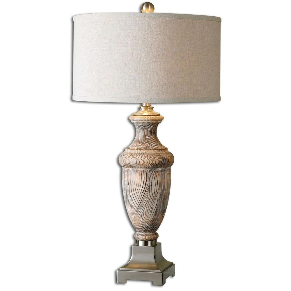 Home Decorators Collection 31-3/4 in. Natural Table Lamp