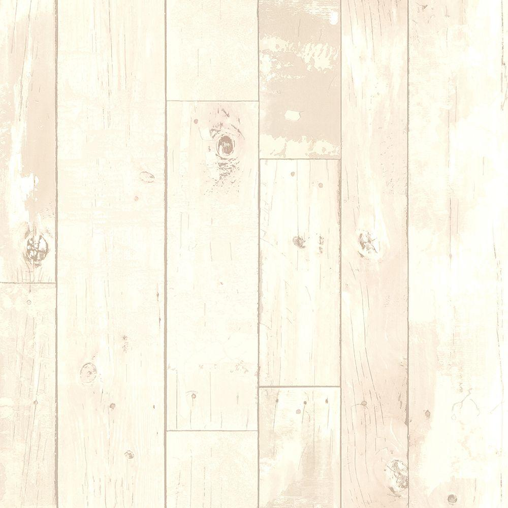 Brewster Ashwile Blush Wood Wallpaper Sample