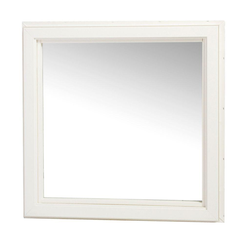 Tafco Windows 36 In X 36 In Casement Picture Window Vc3636 P The