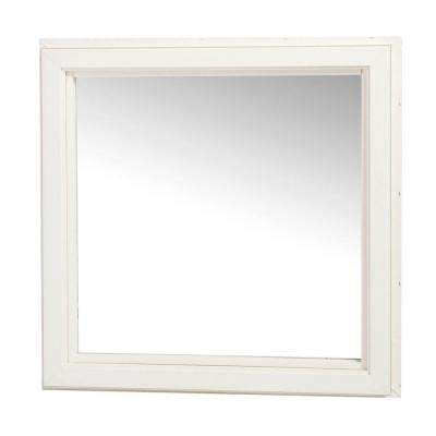 Casement Vinyl Fixed Picture Window, Non-Operating - White