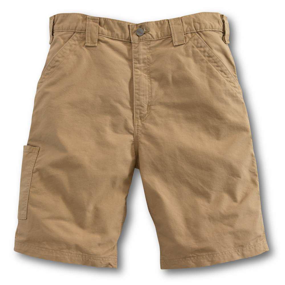 Men's Regular 28 Dark Khaki Cotton  Shorts