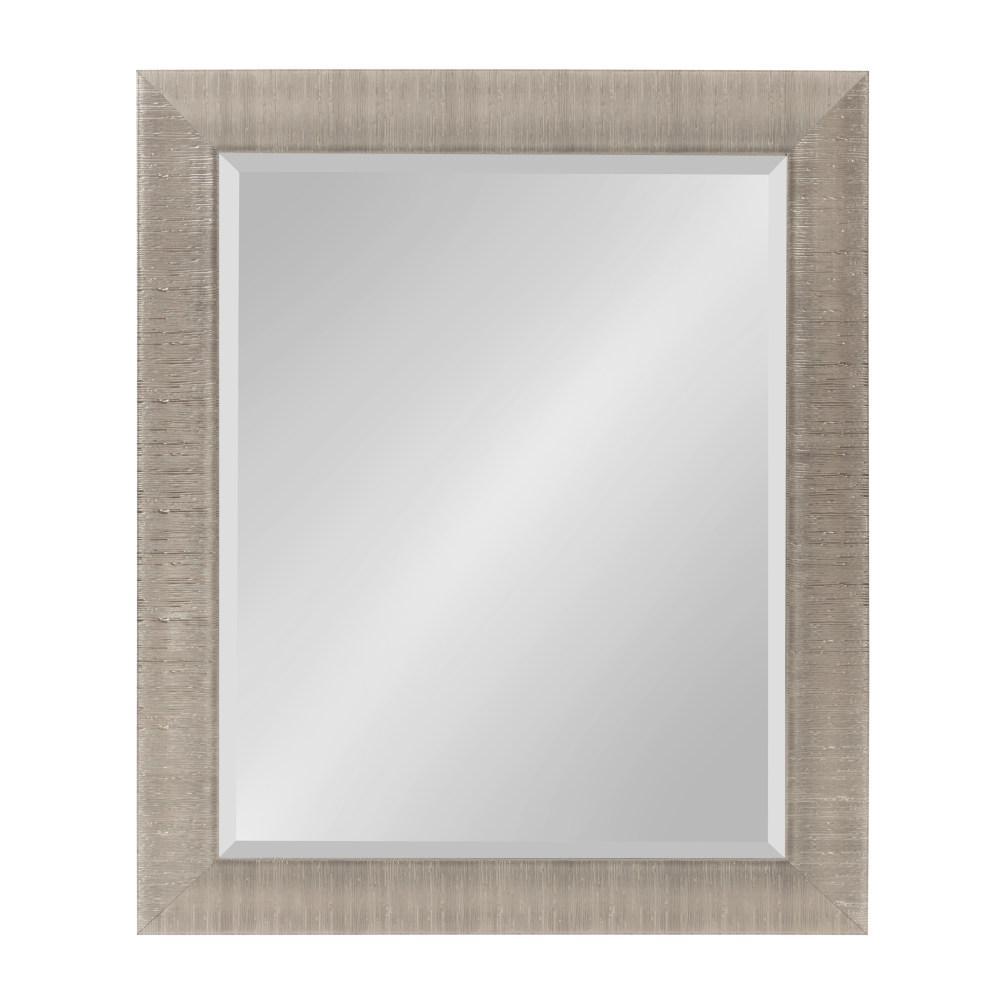 Reyna Rectangle Silver Mirror