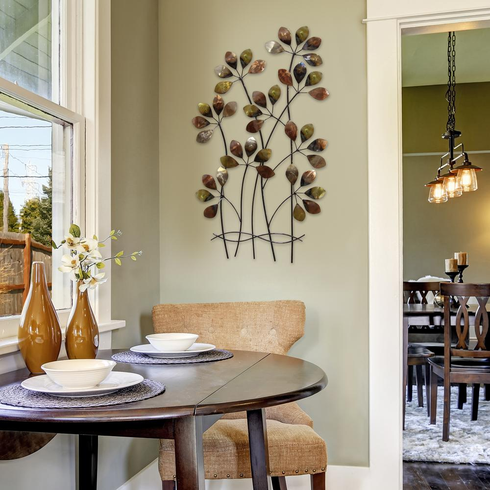 Asheville Model Home Interior Design 1264f: Stratton Home Decor Whispering Metal Fields Wall Decor