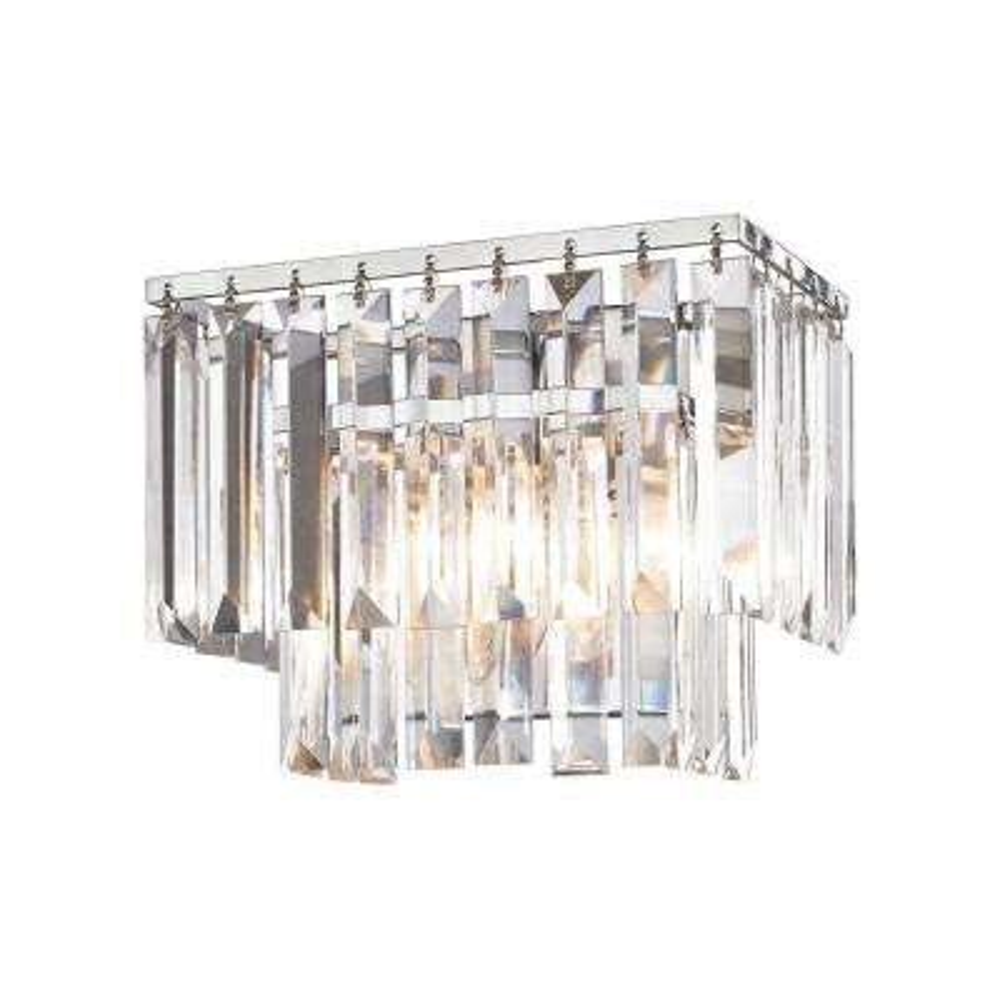 Palacial 1-Light Polished Chrome LED Vanity Light