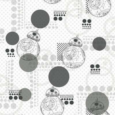 Grey White Wallpaper Home Decor The Home Depot