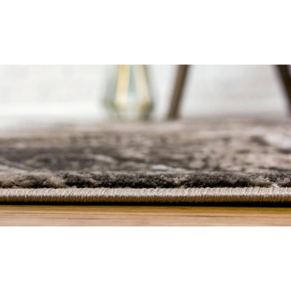 Unique Loom Sofia Albert Brown 5 0 X 8 0 Area Rug 3137736 The Home Depot
