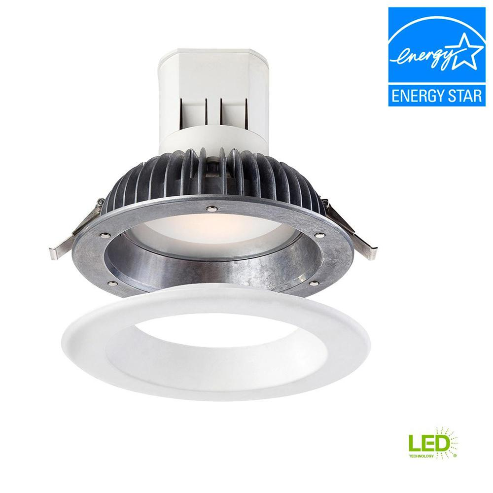 6 in. Bright White LED Easy Up Recessed Ceiling Light with