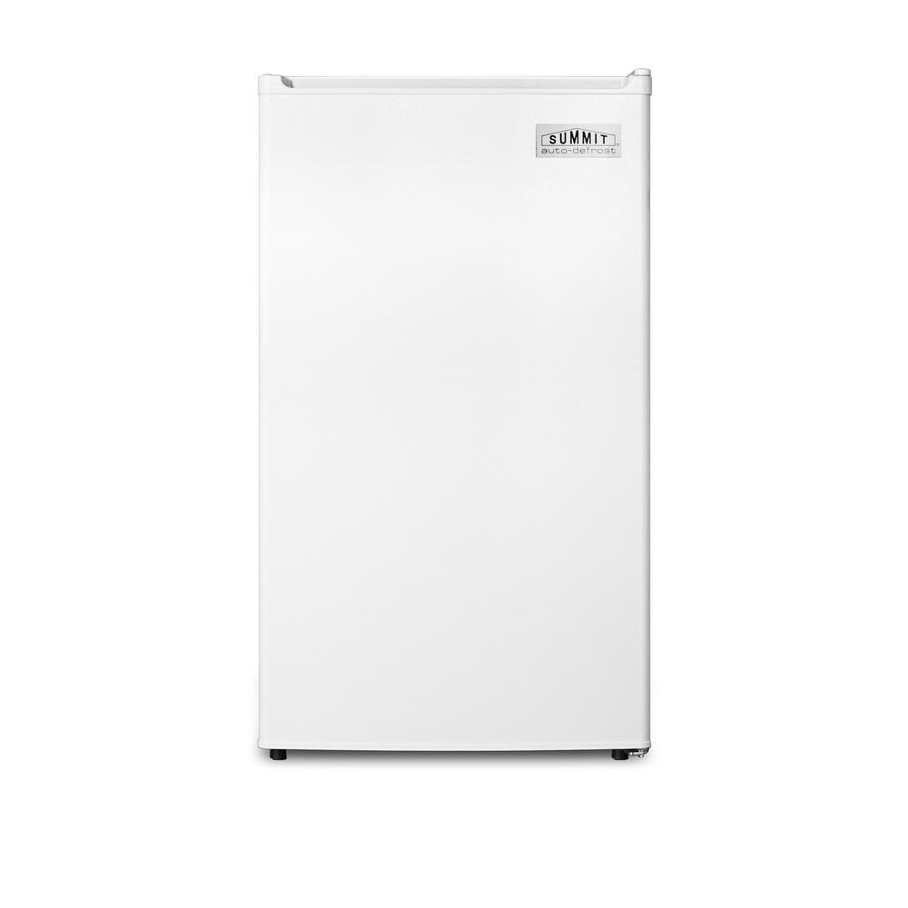 Summit 3.6 cu.ft. Mini Refrigerator in White, Energy Star