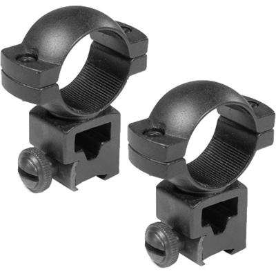 1 in. High Dovetail Style and Airgun 0.22 See-Through Rings