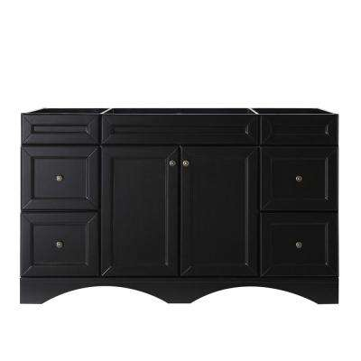 Talisa 60 in. W Bath Vanity Cabinet Only in Espresso