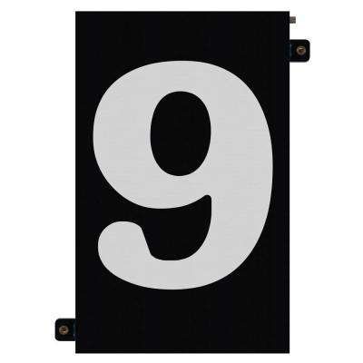 5 in. Modular LED Illuminated House Number 9