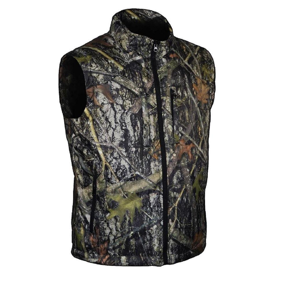 8a895c909275bd TrueTimber Camo Men s Large Camouflage SuperLite Down Vest-TT506-L - The  Home Depot
