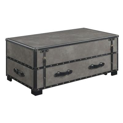 Newport Gray Lift-Top Coffee Table