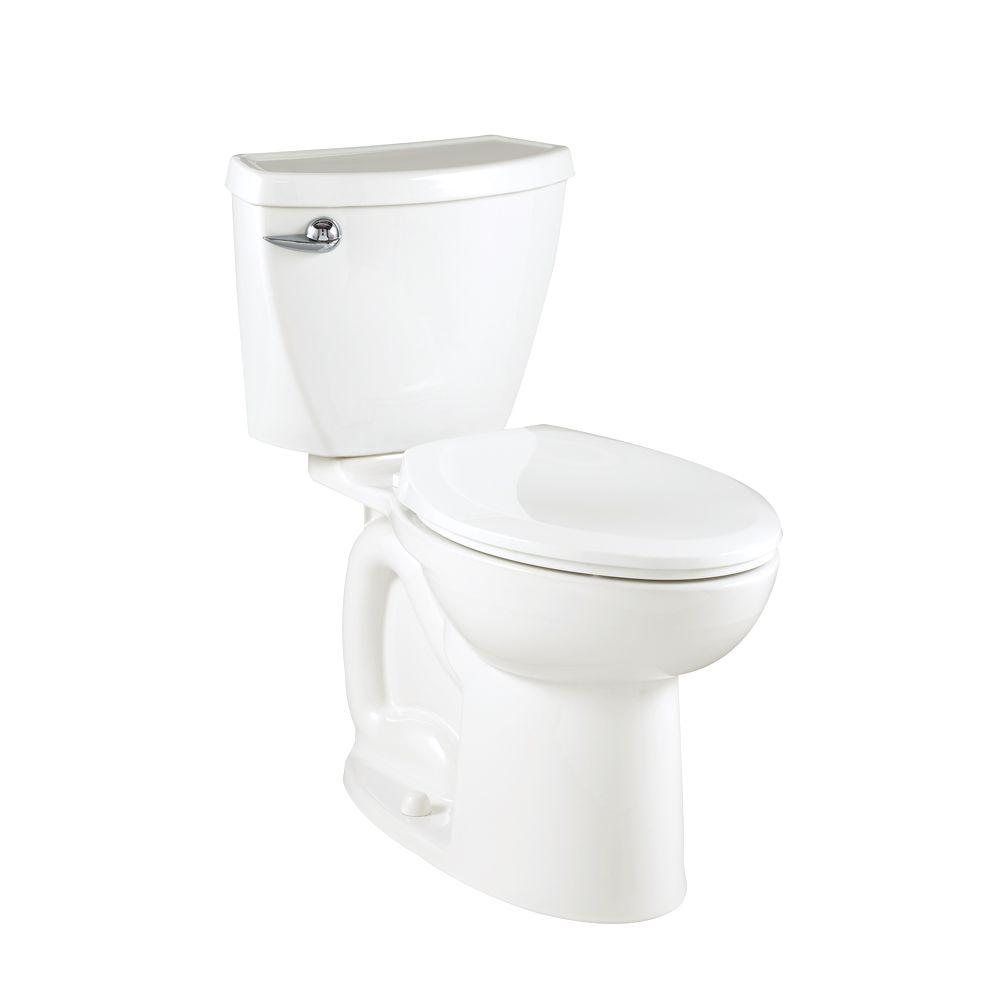 Cadet 3 Powerwash Compact Tall Height 2-piece 1.6 GPF Elongated Toilet