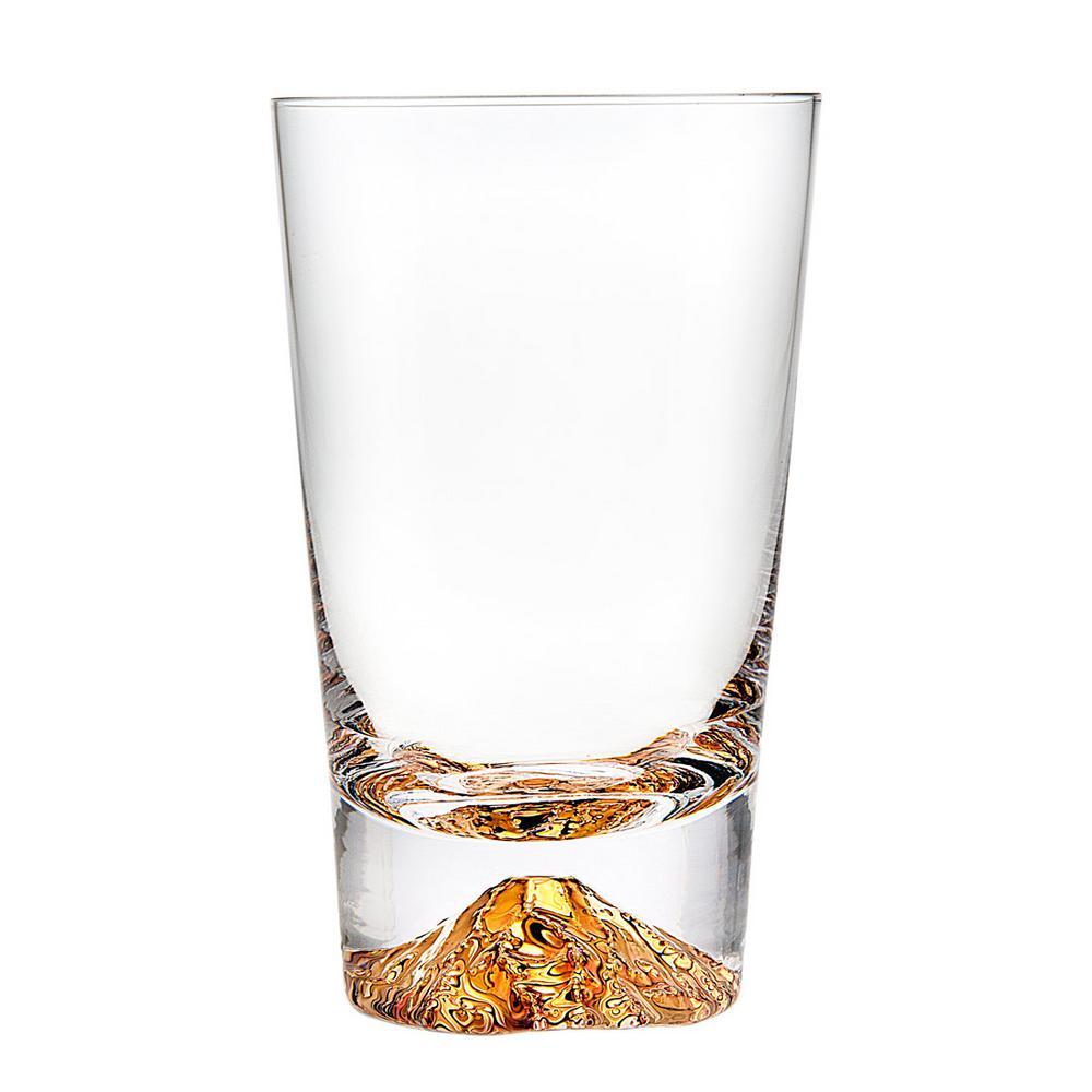 Sierra 12 oz. Crystel Highball Glasses (Set of 4)