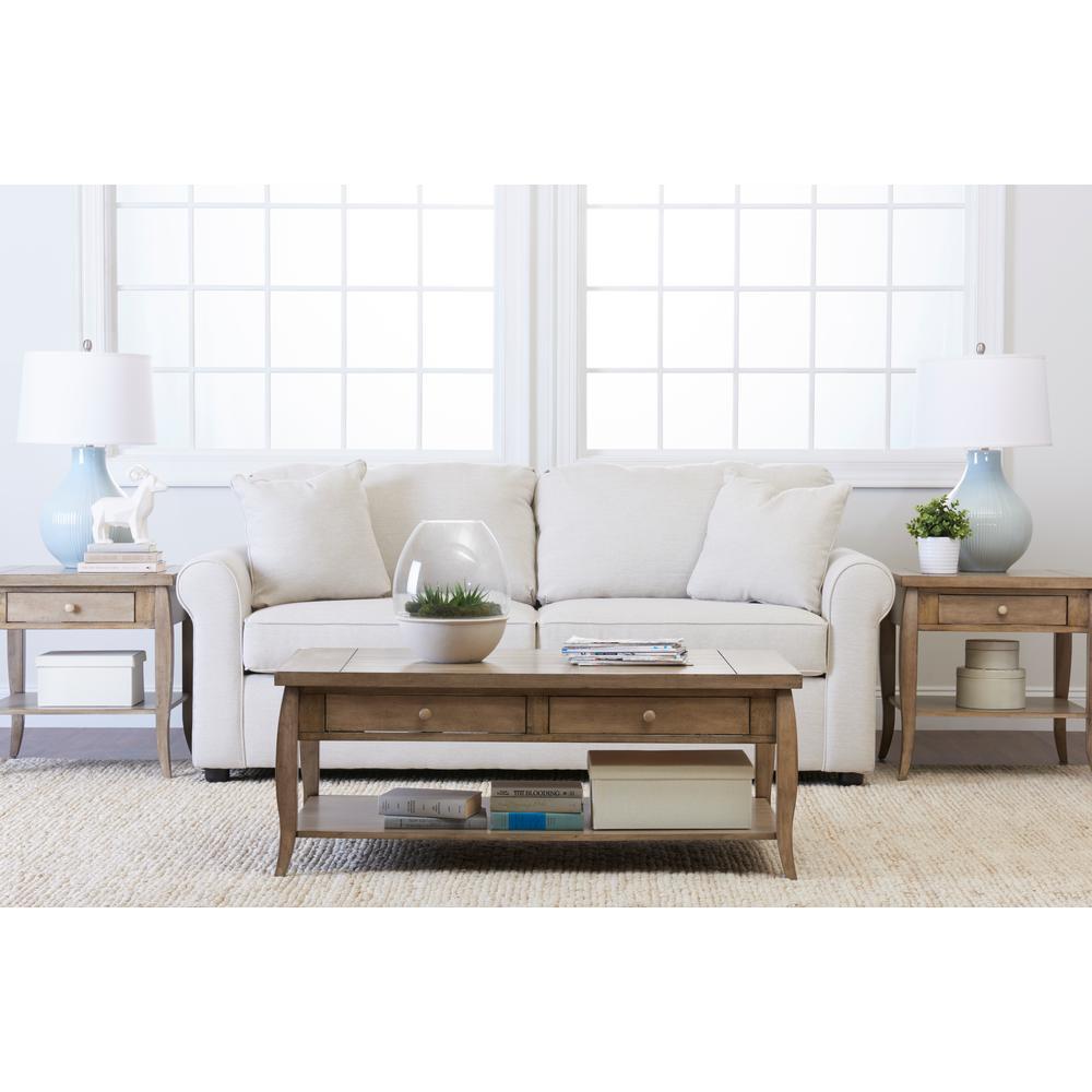 Nice Klaussner Brighton Beige Sofa