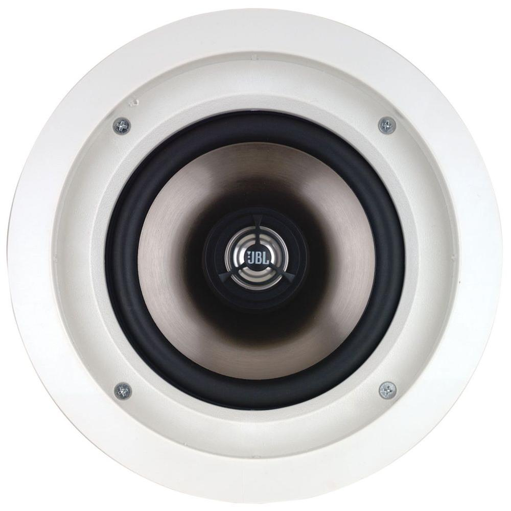 Leviton Architectural Edition Powered by JBL 80-Watt 6.5 in. In-Ceiling Speaker, White