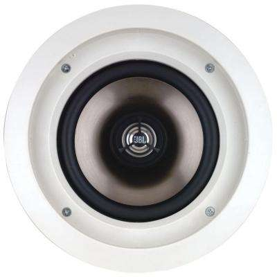 Architectural Edition Powered by JBL 80-Watt 6.5 in. In-Ceiling Speaker, White