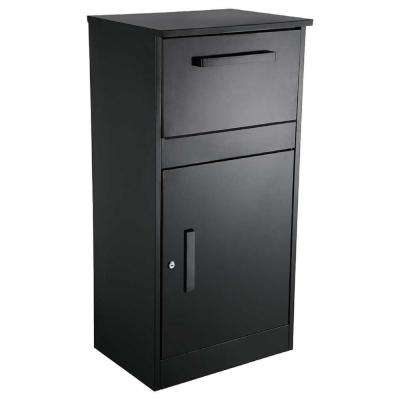 parcel drop boxes residential mailboxes the home depot. Black Bedroom Furniture Sets. Home Design Ideas