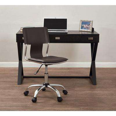 Carina Espresso Office Chair