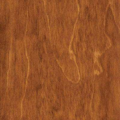Take Home Sample - Hand Scraped Maple Amber Click Lock Hardwood Flooring - 5 in. x 7 in.
