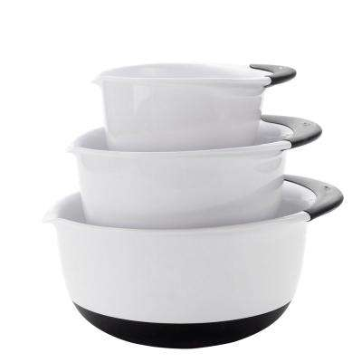 Good Grips 3-Piece Mixing Bowl Set in White