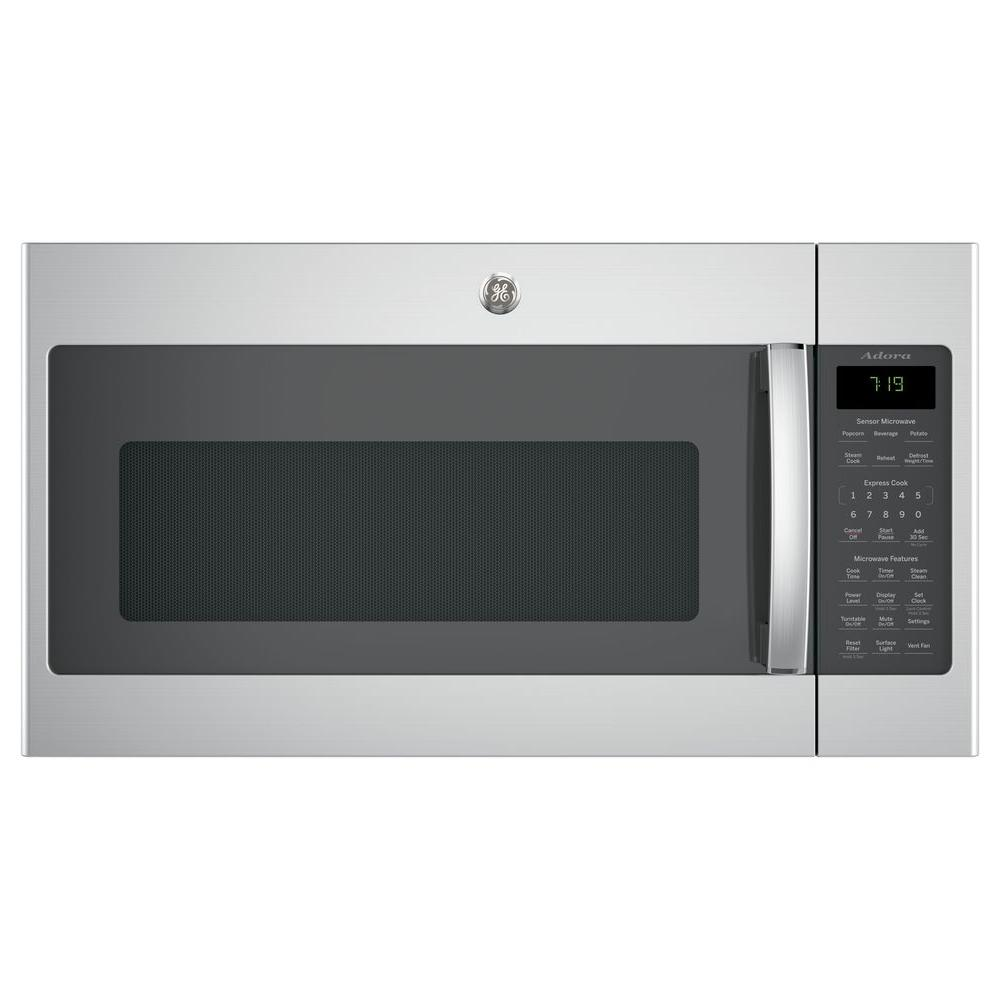 Over The Range Microwave In Stainless Steel With Sensor