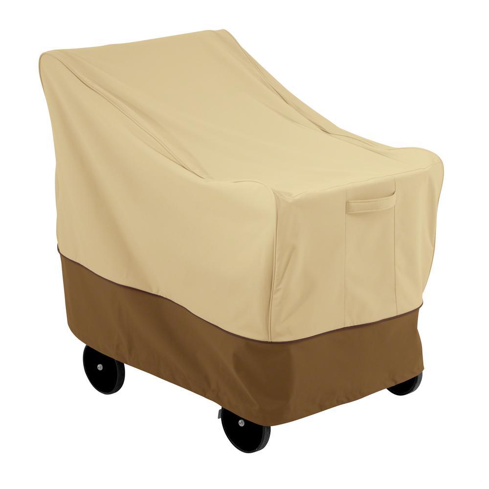Veranda 36 in. L x 25 in. W x 30 in. H Single Handle Bar Cart Cover