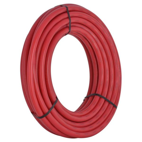 1 in. x 100 ft. Coil Red PEX Pipe