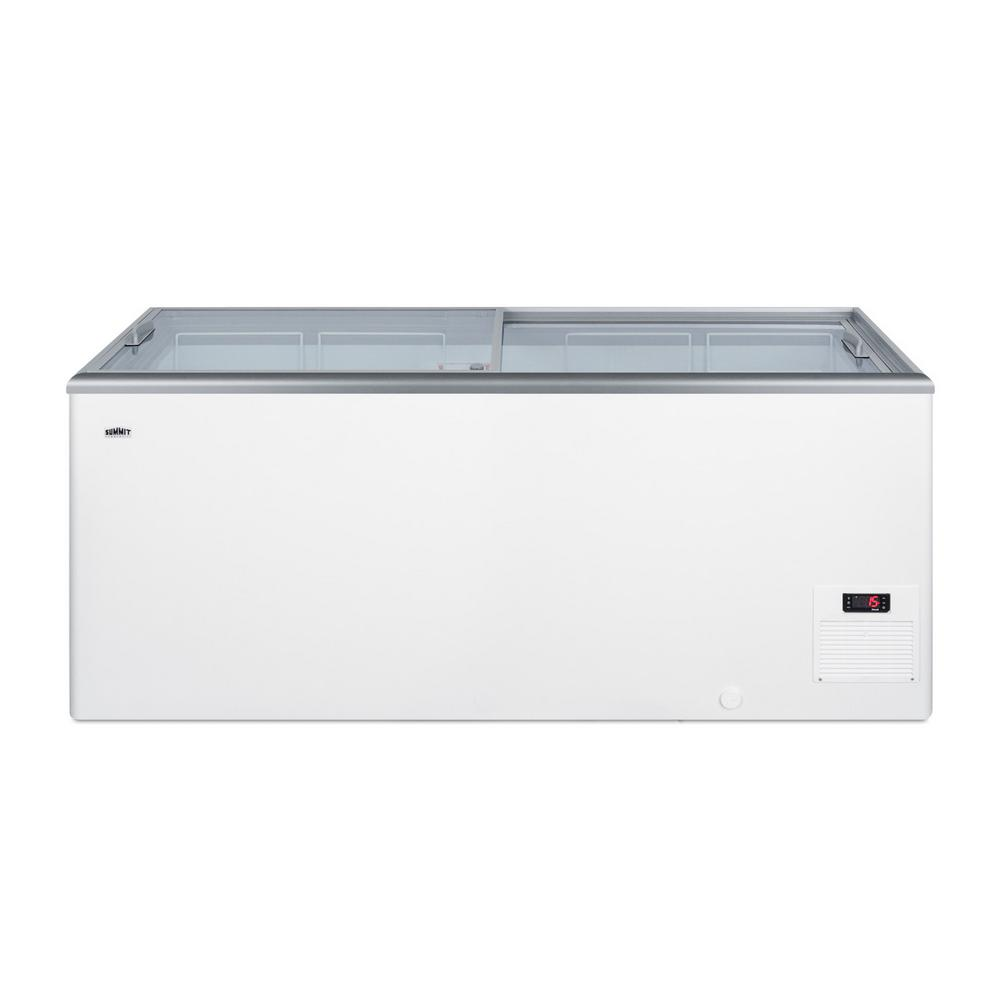 Summit Appliance 16.6 cu. ft. Manual Defrost Commercial Chest Freezer in White
