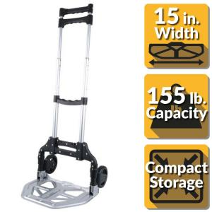 OLYMPIA Pack-N-Roll 150 lb. Folding Hand Truck